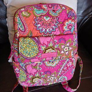 Vera Bradley medium backpack Pink Swirls pattern